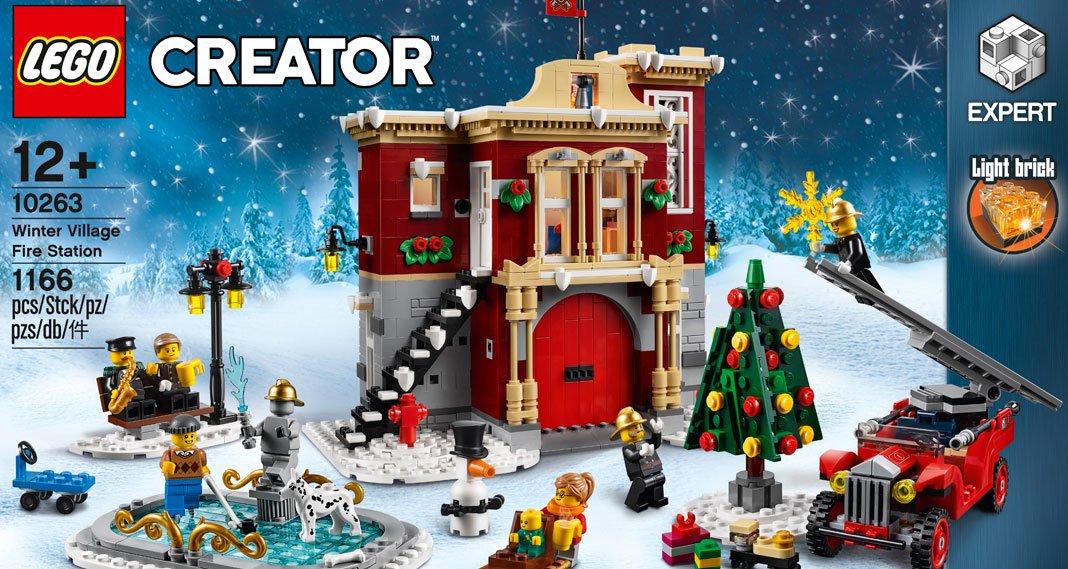 [lokal: Müller Kassel] LEGO 10263 Creator Expert - Winterliche Feuerwache