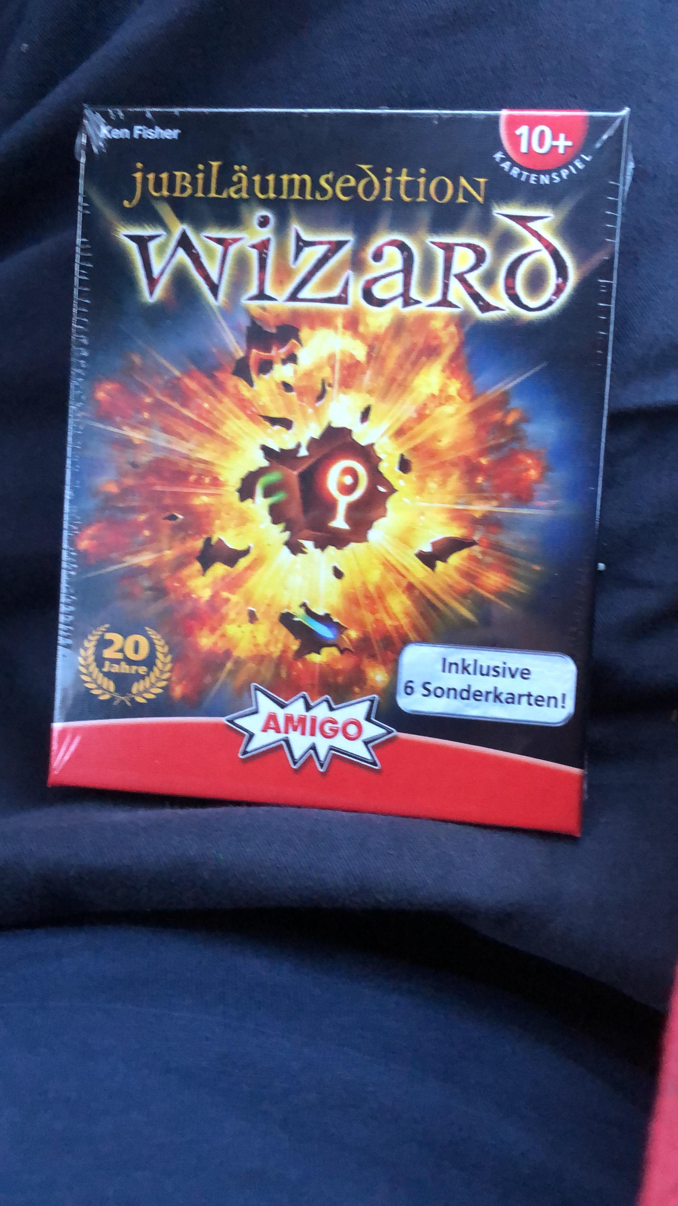 Wizard Jubiläumsedition wieder verfügbar Onlinehandel vor kurzem >100€
