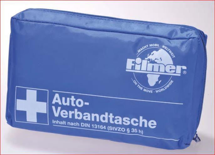 Filmer KFZ-Verbandtasche nach DIN 13164 für 3,88 Euro / 5 Liter AdBlue für 2,99 Euro [Zimmermann]