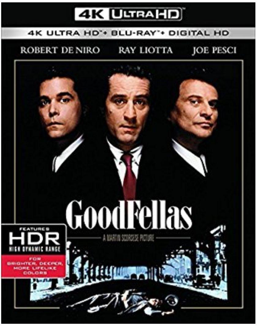 [Amazon.it] Good Fellas (4K Ultra HD+Blu-ray)