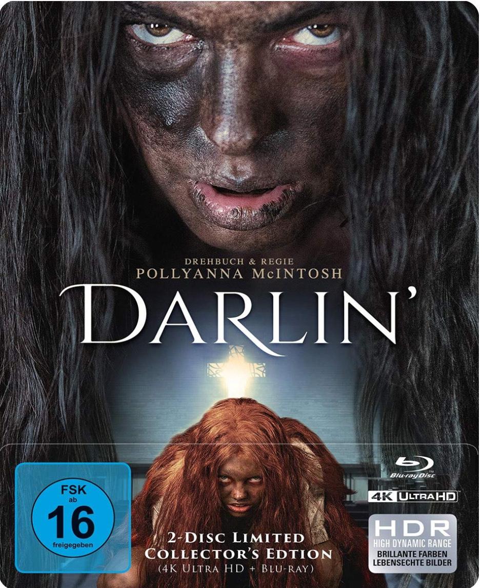 Darlin' - 2-Disc Limited Collector's Edition SteelBook (4K Ultra HD + Blu-Ray)- Amazon Prime
