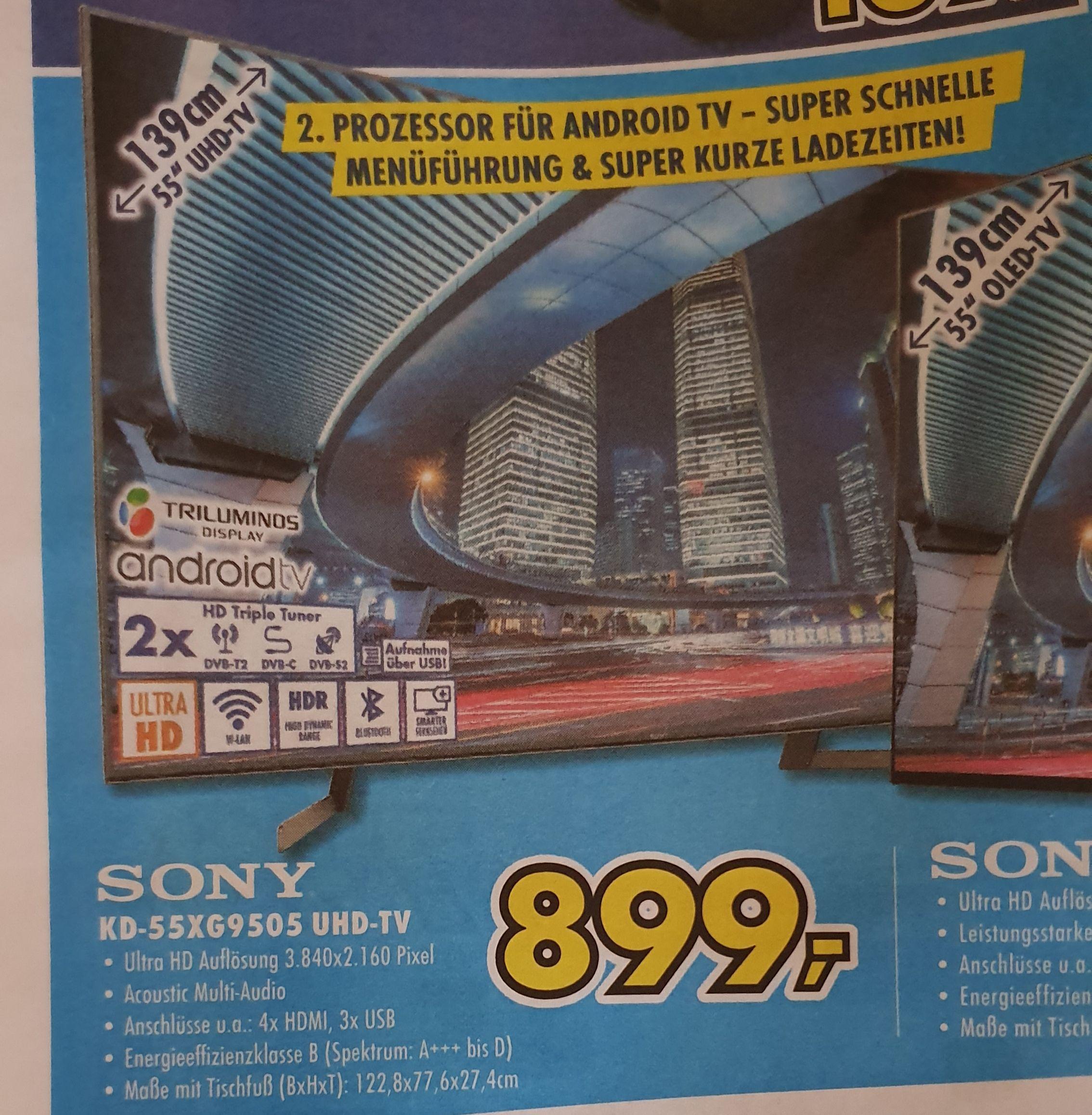 Sony KD-55XG9505 UHD TV Fernseher, möglicherweise lokal