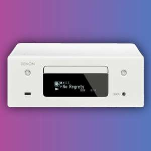 Denon CEOL RCD-N10: Netzwerk-Receiver (2x 65W, HEOS, Bluetooth, AirPlay 2, Alexa, CD-Player)