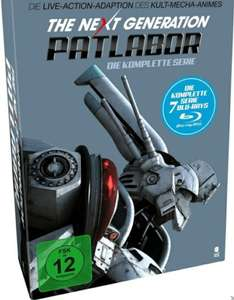 (MediaMarkt) The Next Generation Patlabor - Die komplette Serie [Blu-ray]