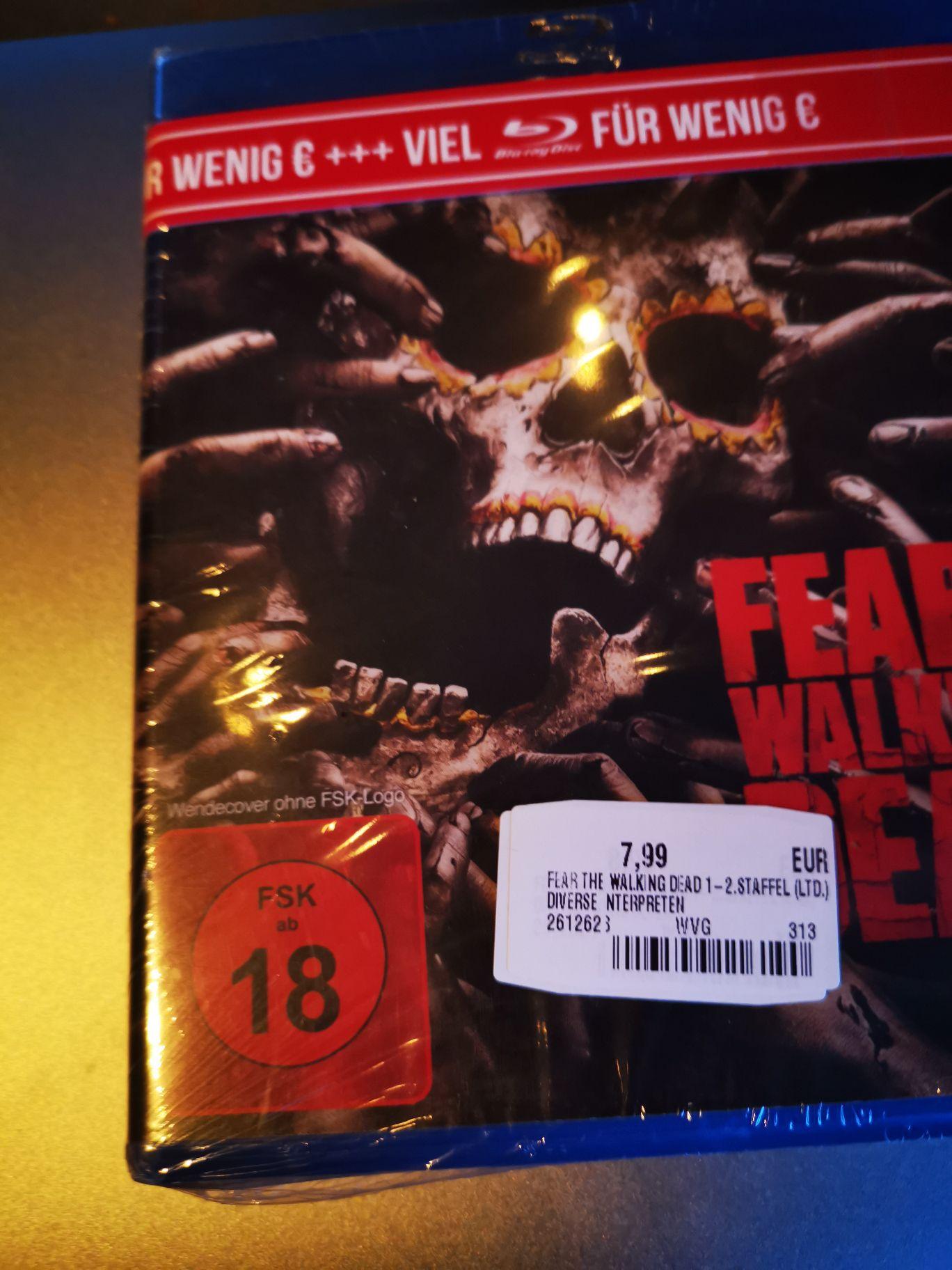 [Offline Saturn] Fear the walking Dead Staffel 1&2 Bluray