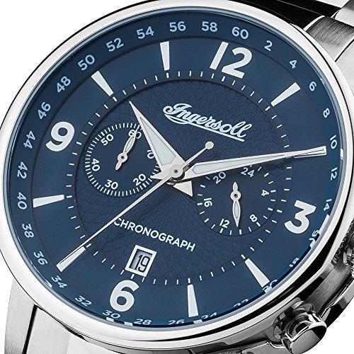 Amazon Marketplace Ingersoll Herren Analog Quarz Uhr mit Edelstahl Armband I00604