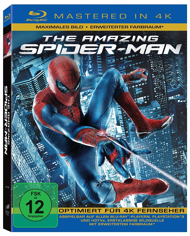 The Amazing Spider-Man - 4K Mastered (Blu-ray) (ebay/Amazon Prime)