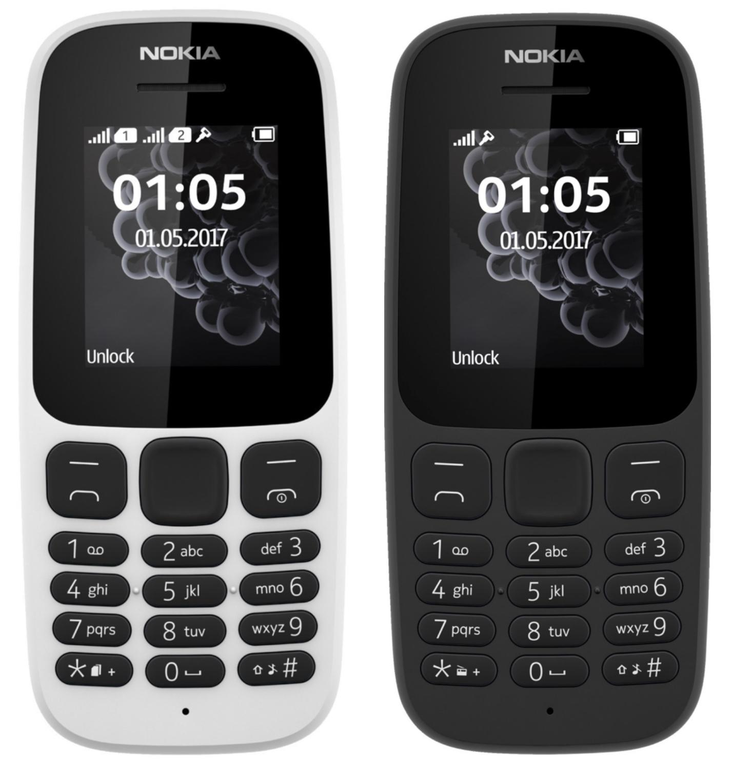 NOKIA 105 Dual SIM Handy weiß oder schwarz für je 13€ inkl. Versandkosten - [Saturn/MediaMarkt]