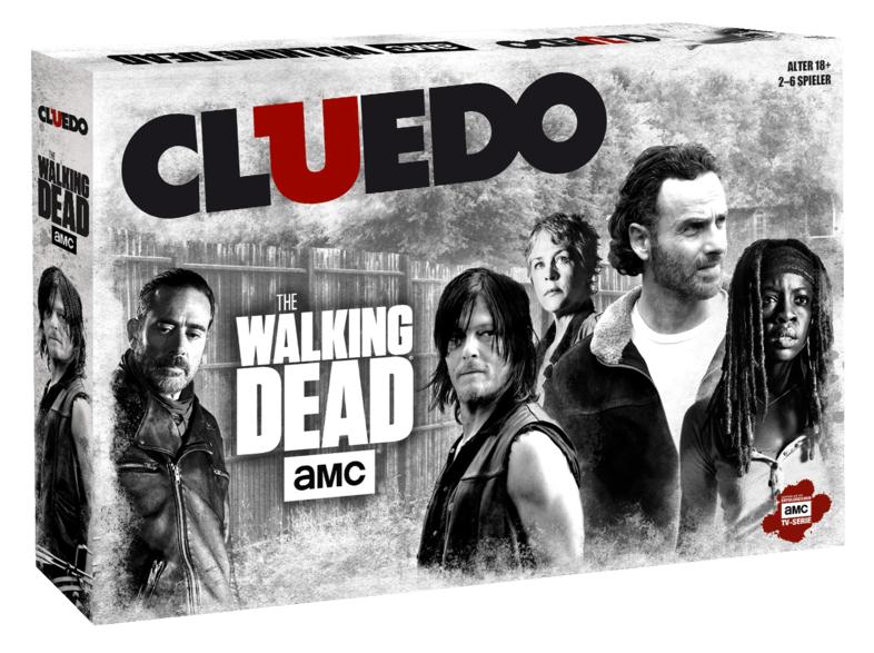 [Mediamarkt] Cluedo The Walking Dead AMC Edition Spiel Gesellschaftsspiel Brettspiel deutsch für 18,-€