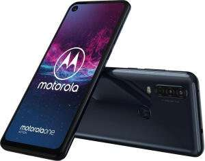 "MOTOROLA One Action (6.3"" 21:9, 2520x1080, 4/128GB, Exynos 9609, Dual SIM, 3500mAh, Android 9/One) für 155€ [MediaMarkt / Amazon]"
