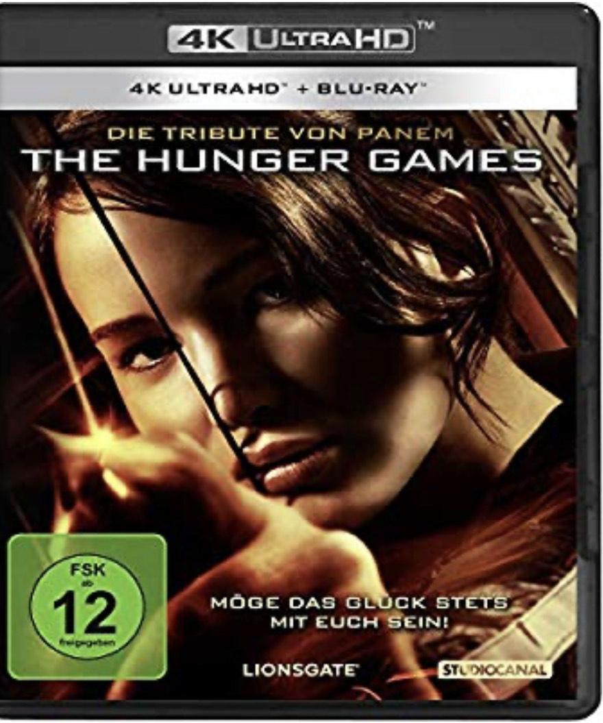 Die Tribute von Panem - The Hunger Games (4K Ultra-HD) (+ Blu-ray) - Amazon Prime