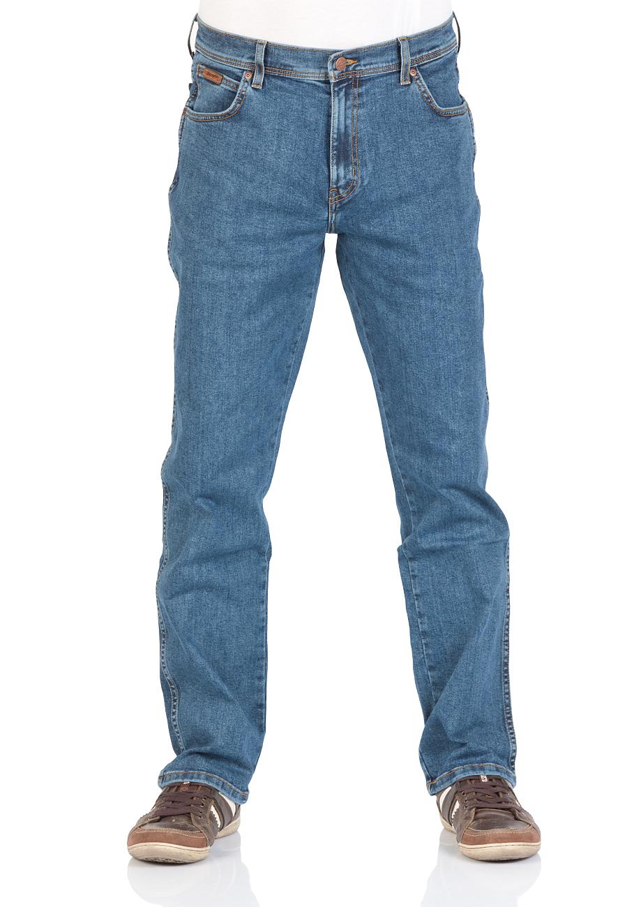 NOOS Sale + 4er Basic-T-Shirts im Sale, zB.: Wrangler Texas Stretch [Jeans-Direct]