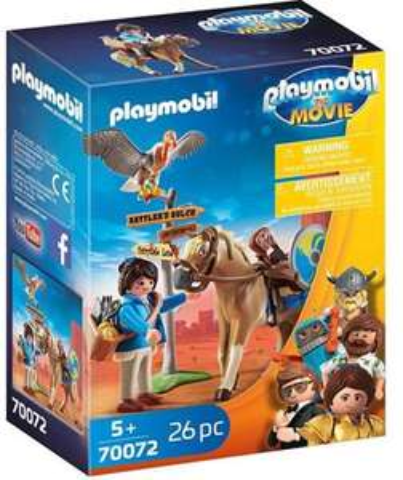 Playmobil The Movie - Marla mit Pferd (70072) & Playmobil The Movie: Rex Dasher mit Fallschirm (70070) für je 5€ (Müller Abholung)