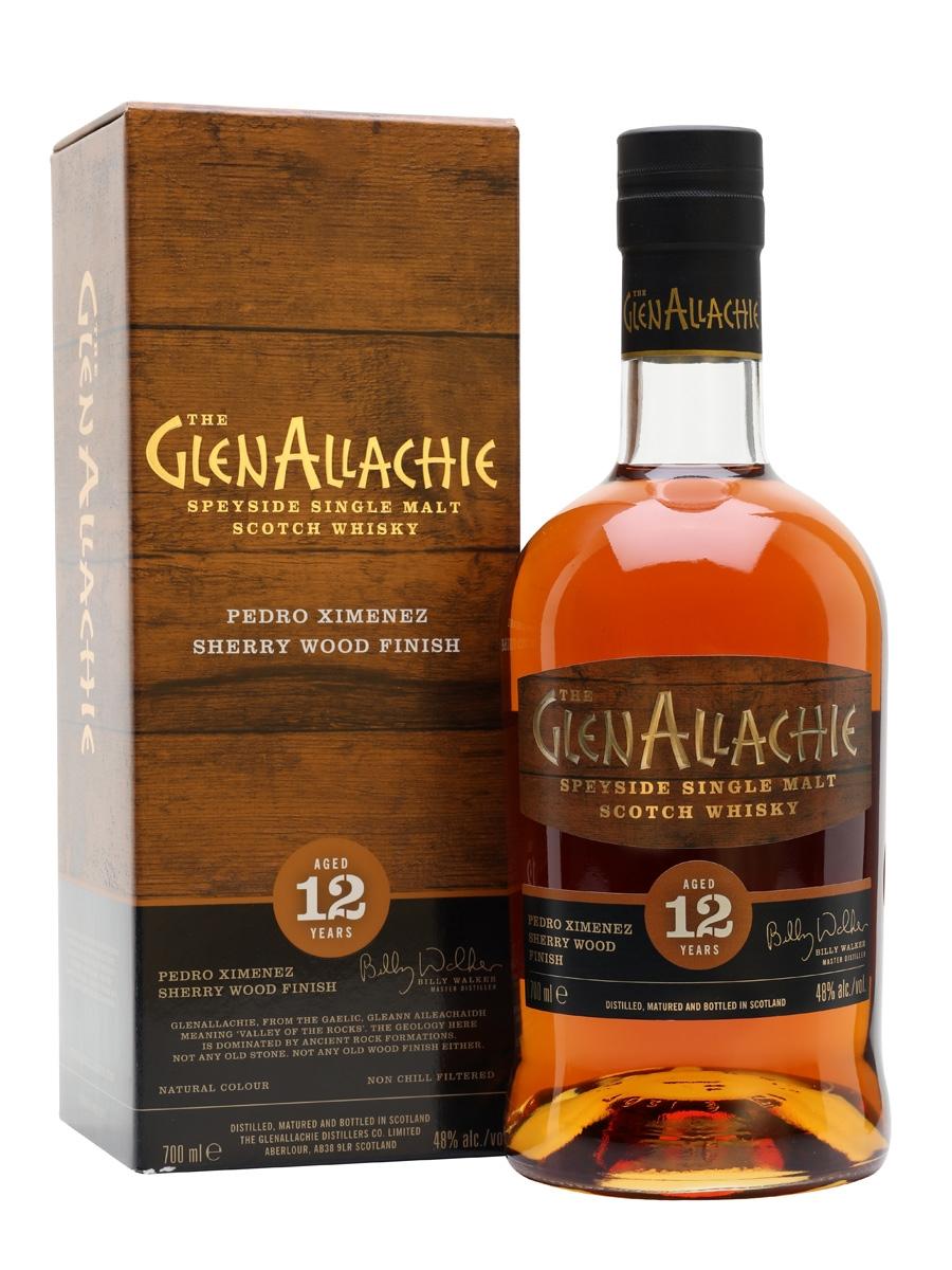 Glenallachie 12 PX, Glenallachie 8 Rye QC, Glenallachie 2009/2019 Madeira, Glenallachie 1978/2018 und Glenallachie 18 Single Malt Whisky