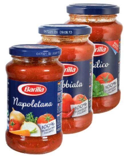 [Kaufland] Barilla Pasta Saucen verschiedene Sorten 400g Glas für 1 Euro