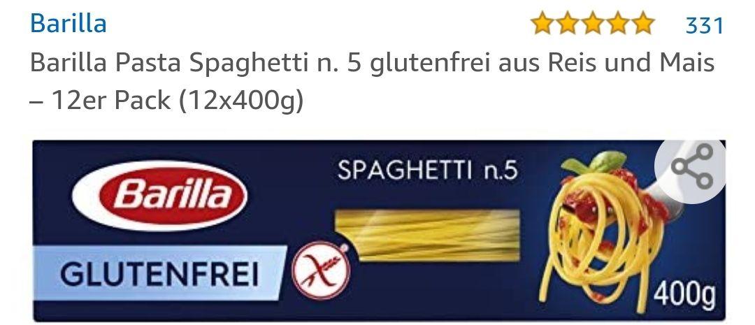 Barilla glutenfrei Spaghetti 12er Pack