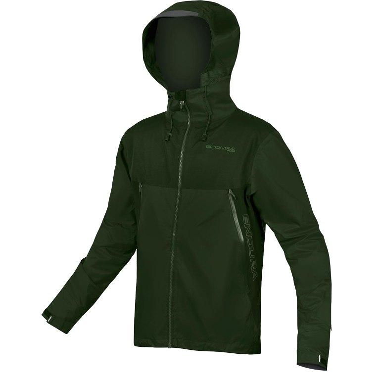 Endura MT500 Regenjacke in waldgrün