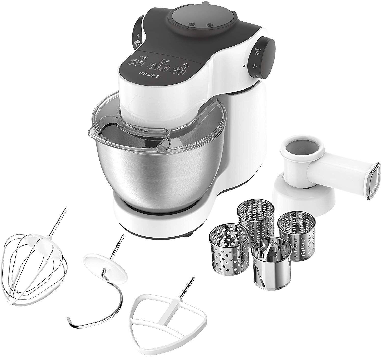 Krups KA3121 Master Perfect Küchenmaschine (1000 Watt, Gesamtvolumen: 4 Liter, inkl.: Back-Set) [Amazon]