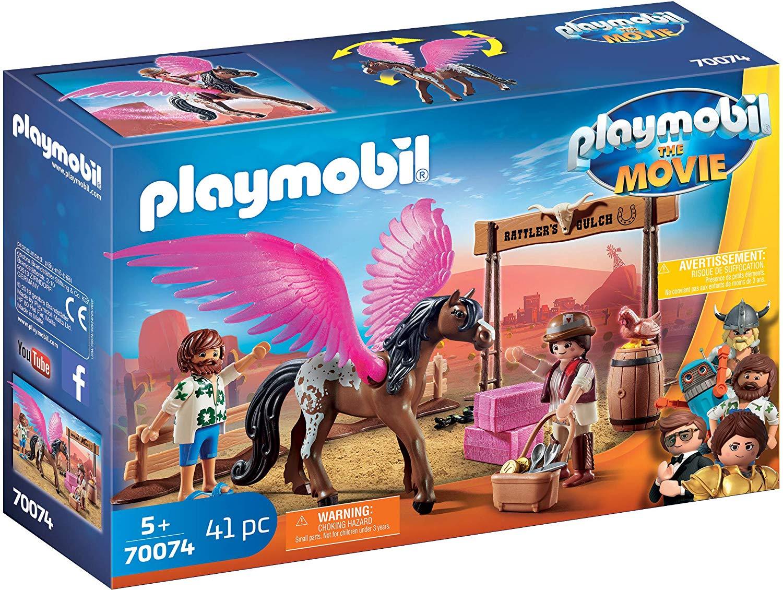Playmobil The Movie - Marla, Del und Pferd mit Flügeln (70074) für 10€ (Müller & Amazon Prime)