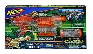 Nerf N-Modulus Shadow Ops ICS-6 Blaster mit Licht