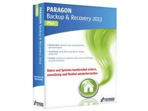 Paragon Backup Recovery 2013 Plus – heute gratis: Backup & Datensicherung
