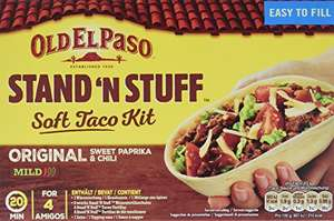 (Amazon Prime ) 2x345g Old El Paso Stand n Stuff Soft Taco Kit