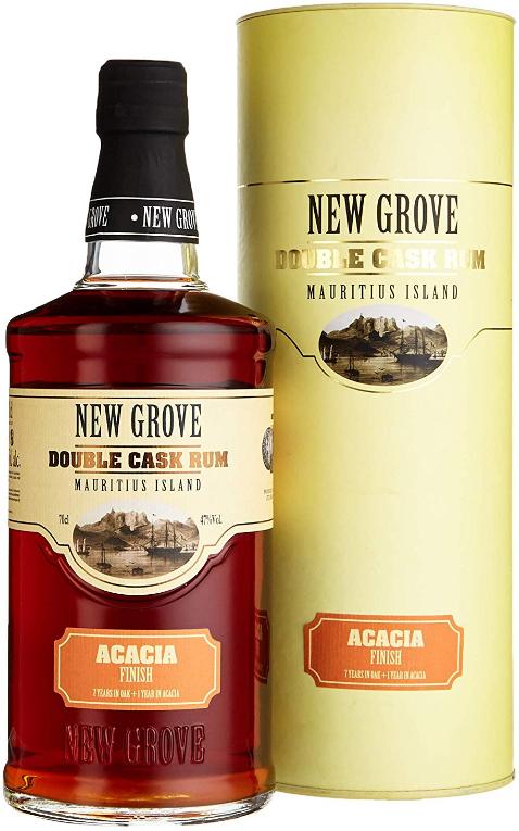 Rum-Übersicht #02: Sammeldeal, z.B. New Grove Double Cask Acacia Finish Rum (0.7 l) für 40,58€ inkl. Versand [Amazon]