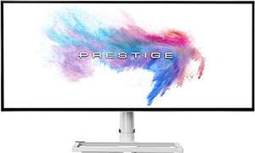 """MSI Prestige PS341WU 34"""" Monitor (5K WUHD, IPS, 100% sRGB, 450cd/m², 60Hz, 5ms, 1xDP, 2xHDMI, VESA)"""