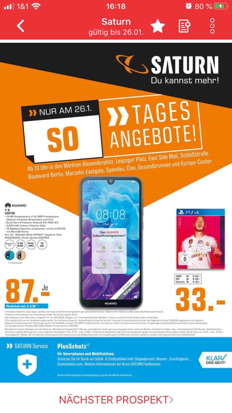 Lokal Berlin: z.B FIFA 20 für PS4 für 33€