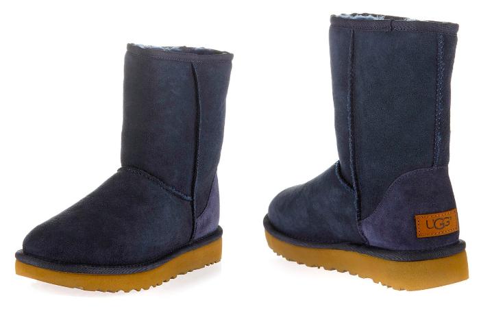 Wintersale mit 15% Rabatt auf Alles (ab 75€), z.B. UGG Boots Classic Short, Lammfell, dunkelblau