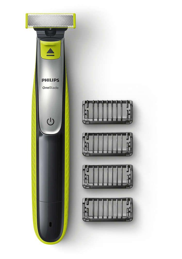 Philips OneBlade Rasierer QP2530/20 für 25,99 € und QP2520/20 für 22,99 inkl. VSK direkt über philips.de (+4% Shoop CB)