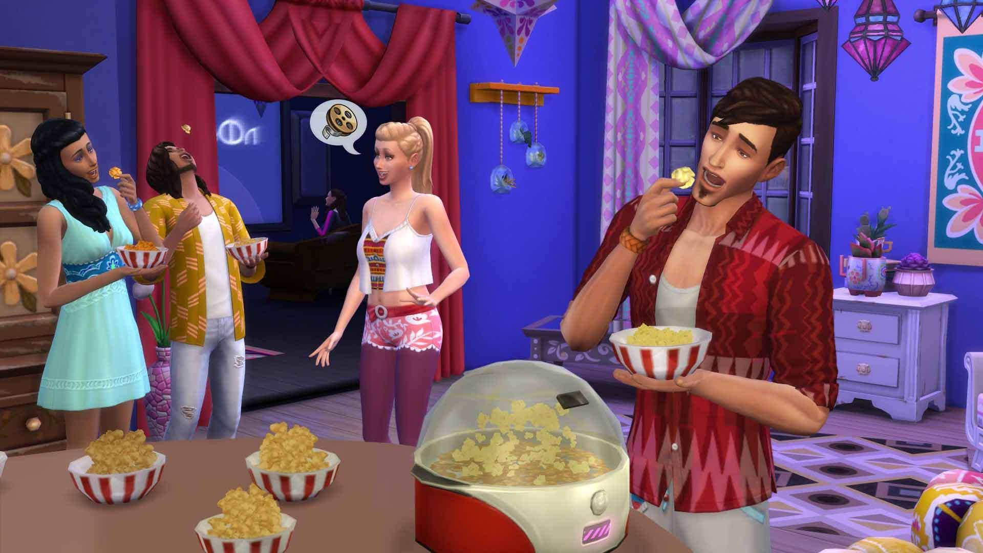 Origin feiert 20 Jahre Sims - Heimkino ua. DLCs reduziert