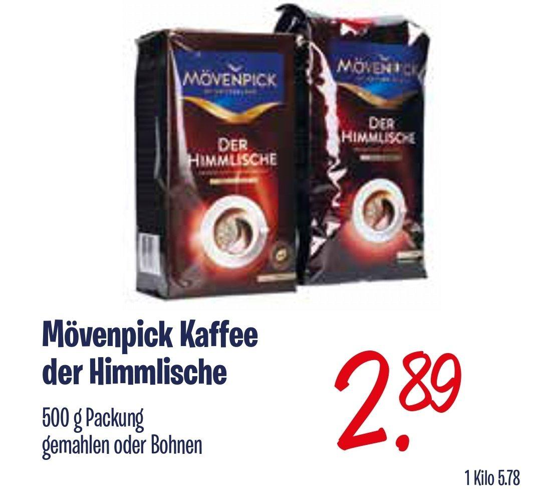 Kaffee Mövenpick Der Himmlische (Bohnen oder gemahlen) - 500g für 2,89 € [Lokal Venlo]