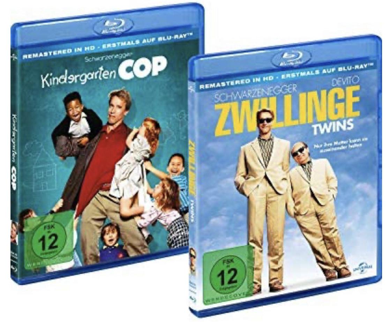 Bundle: Kindergarten Cop / Zwillinge-Twins LTD. [Blu-ray] - Amazon Prime