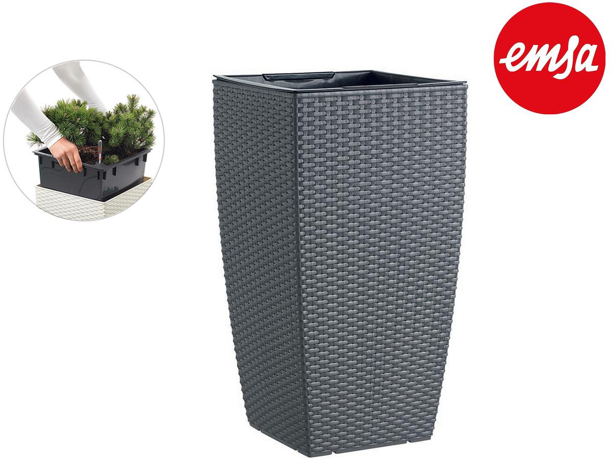 Emsa Casa Blumensäule (Mit Bewässerungssystem und Pflanzeinsatz) in 66cm für 19,95€, 58cm für 17,95€, 57cm für 16,95€ + 5,95€ VSK [iBOOD]
