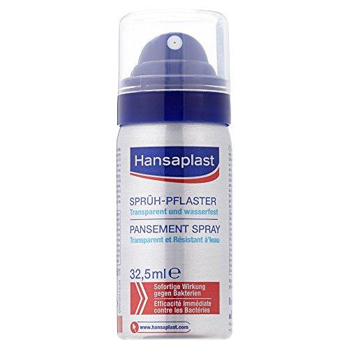 [Amazon Prime] Hansaplast (wasserfestes und atmungsaktives) Sprühpflaster, 1 x 32,5 ml