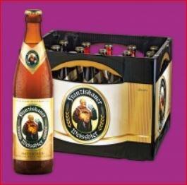 Franziskaner Hefe-Weißbier für 11 Euro / Brezel für [ Norma, nicht bundesweit ]