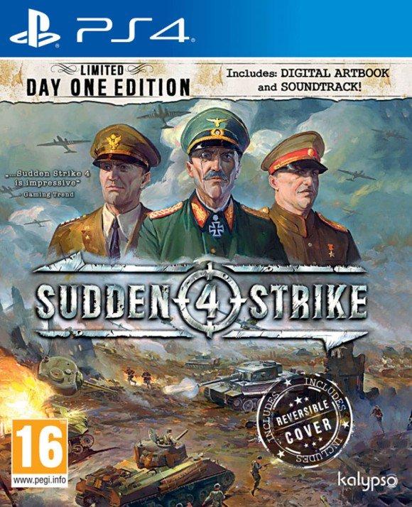 Sudden Strike 4 Limited Day One Edition (PS4) für 15,50€ (Coolshop)