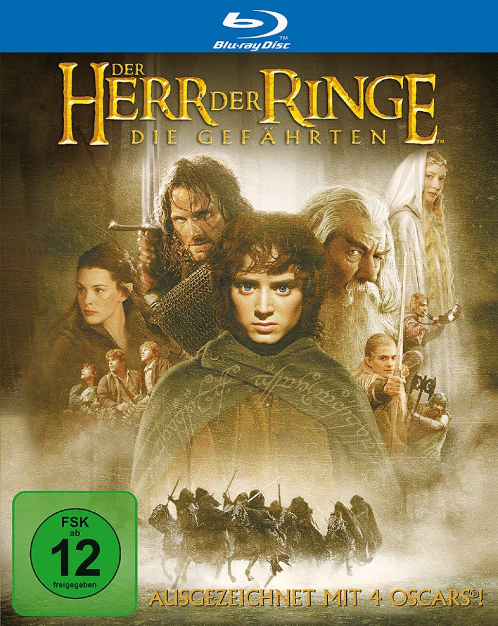 Der Herr der Ringe - Die Gefährten (Blu-ray) für 5€ (Amazon Prime)