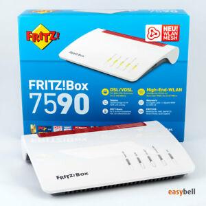 (eBay) AVM FRITZ!Box 7590 Dual-Band WLAN Router (generalüberholt)