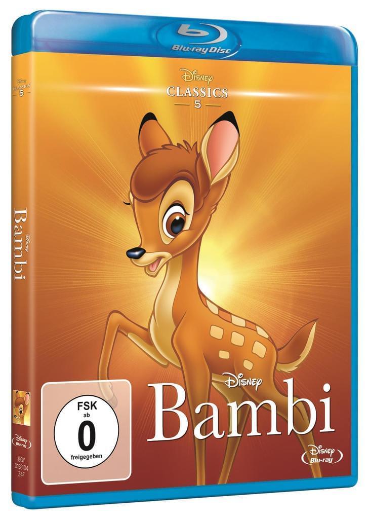 [real.de] Bambi (Disney Classics) [Blu-ray] und noch weitere Filme zu je 7,99 € [versandkostenfrei]