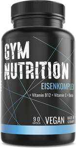 Gym-Nutrition Eisenkomplex Tabletten