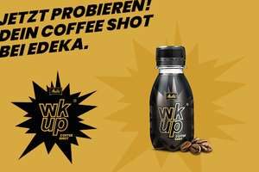 Neue Aktion 1x 100% Cashback auf wkup® Coffee Shot 90ml [Scondoo / Lokal Edeka Rhein-Ruhr}