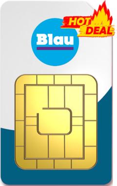 Blau Allnet Flat 3GB Vertrag für 3.49€ mtl. (effektiv 4,74€ pro Monat bei 24 Monaten Laufzeit)