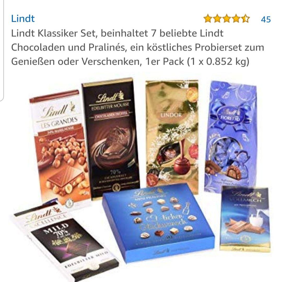 Lindt Schokoladenset für 15,12