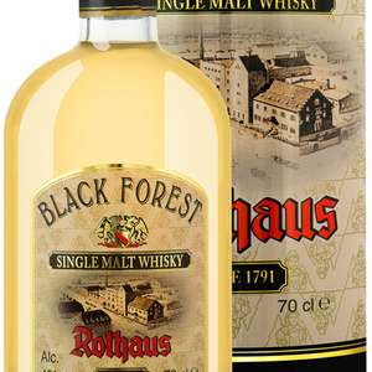 Black Forest Rothaus Single Malt Whisky 0,7L