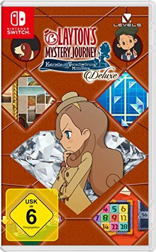 Layton's Mystery Journey: Katrielle und die Verschwörung der Millionäre Deluxe (Switch) für 30,99€ (Amazon)