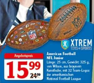 Globus Supermarkt Filialen, American Football NFL Junior von Wilson