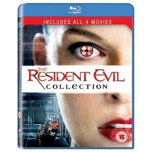 Resident Evil 1-4 Box Set Blu-ray für ca. 12,00 € [Zavvi.com]
