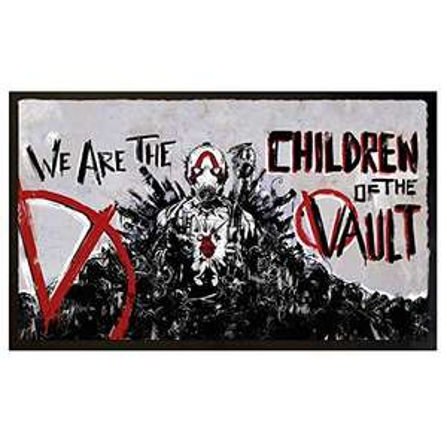 """Borderlands 3 Fußmatte """"Children of the Vault"""" für 19,99€ [Amazon Prime]"""